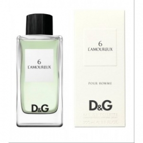 PROFUMO DOLCE & GABBANA THE FRAGRANS N° 6 L'AMOUREUX EAU DE TOILETTE ML 100